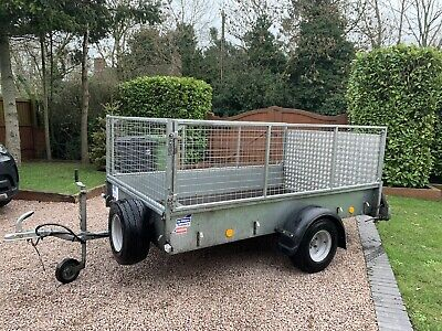 Ifor Williams P8e Gardener Mobilty Scooter Mesh Cage Ramp Quad Camping Trailer • 695£