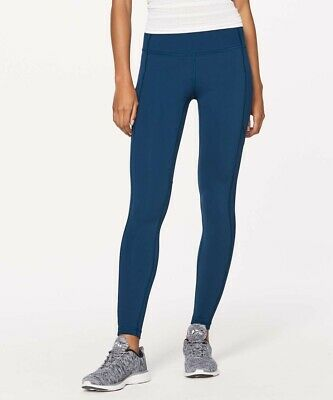 "$ CDN50 • Buy Women's Lululemon Speed Tight V 29"" Leggings - 2 - Night Tide"