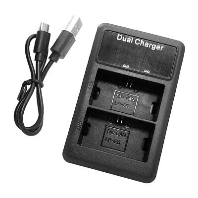 Smart Battery Charger Fast Universal USB Charging Stand For Canon LP-E6 LP-E6N • 8.77£