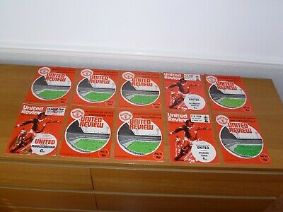 Relegation 1973/74***2 Numbered Tokens Intact***3 Manchester United Programmes  • 3£