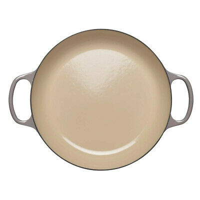 New Le Creuset Signature Cast Iron Shallow Casserole Flint - 26cm • 248.82£