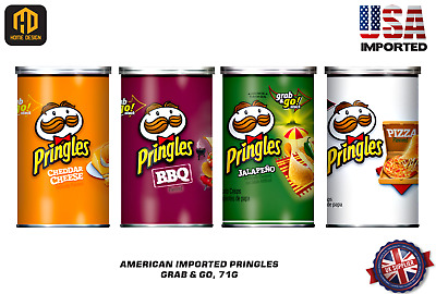 £7.29 • Buy American Pringles Grab & Go Available In 4 Flavours 71g - USA Imported (AS015)