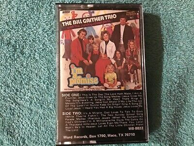 $4.99 • Buy The Bill Gaither Trio, I'm A Promise, 1975 Word Audio Cassette