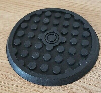 """£3.65 • Buy New 3.5"""" Rubber Trolley Jack Cushion Lifting Safety Grip Pads Jacking Pad 7mm"""