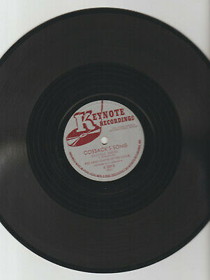 £35.41 • Buy RED ARMY CHOIR 1939 COSSACK'S SONG / FROM BORDER TO BORDER 78rpm- KEYNOTE #209