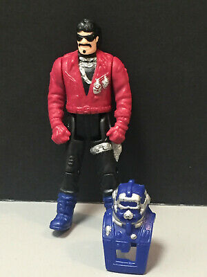 $19.99 • Buy 1987 M.A.S.K. SLY RAX W/ SAWBLADE Mask - PitStop Catapult Kenner 3  Figure