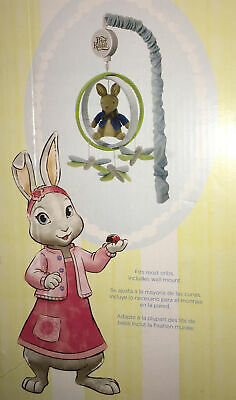 £17.70 • Buy Beatrix Potter Peter Rabbit Baby BRAHMS' Musical Mobile Attach To Crib Or Wall