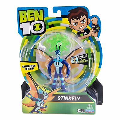 Ben 10 STINKFLY Bug Toy Action Figure 12.5 Cm Rare Toy 76110 • 14.46£