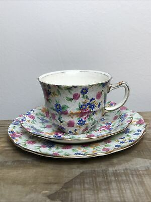 $ CDN60.45 • Buy Royal Winton Grimwades Old Cottage Chintz Tea Trio Cup Saucer & Sideplate
