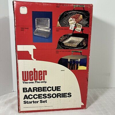 $ CDN57.89 • Buy Weber Grill Barbecue Accessories Starter Kit 8801 Sealed Vintage