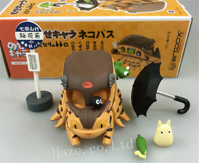 £15.32 • Buy Anime My Neighbor Totoro Cat Bus Resin Action Figure Model In Box