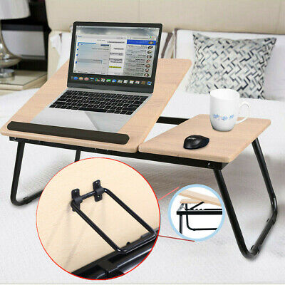 Adjustable Laptop Bed Table Stand Computer Desk Sofa Lap Tray Foldable Portable • 16.99£