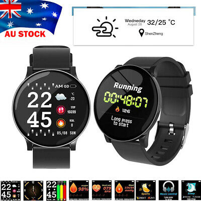 AU25.89 • Buy Smart Watch Band Sport Activity Fitness Tracker For Kids Fit Bit Android IOS AU
