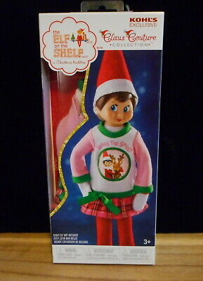 AU12.96 • Buy Elf On The Shelf Girl Scout Doll Snuggle N Hug Nightgown Outfit Exclusive New