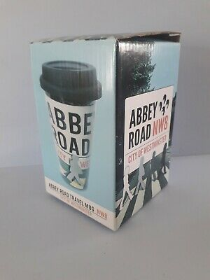 £7.99 • Buy Abbey Road Ceramic Travel Coffee Mug , The Beatles NW8 London .New In Gift Box