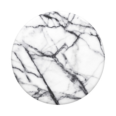 AU14.95 • Buy PopSockets PopGrip: Swappable Grip For Phones & Tablets -Dove White Marble