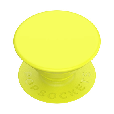 AU14.95 • Buy PopSockets PopGrip: Swappable Grip For Phones & Tablets - Neon Jolt Yellow