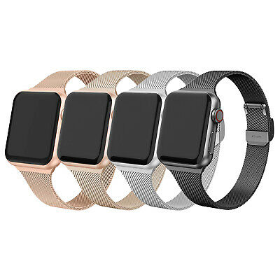 AU15.99 • Buy Milanese Stainless Steel Band Strap Bracelet For Apple Watch Series 6 5 4 3 2 SE