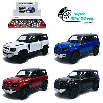 Kinsmart 1:36 - Land Rover Defender 90 - 5  Diecast Toy Car - 4 Colors • 4.14£