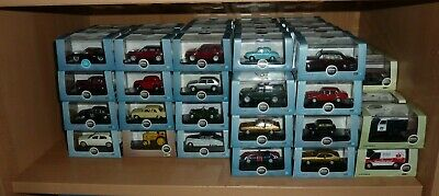 Large Collection Of 1:76 & 1:87 Scale Oxford Diecast Models - Choose From Menu • 4.99£
