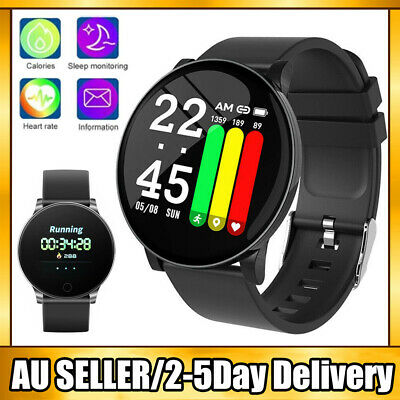 AU15.79 • Buy Smart Watch Band Sport Activity Fitness Tracker For Kids Fit Bit Android IOS AU