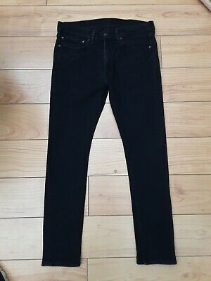 Levi 519 Extreme Skinny Stretch Fit Jeans W34 L30 Black  • 36.99£