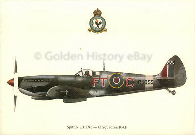 £5.99 • Buy Spitfire Lfix 43 Air Force Squadron Prints Postcard Military Aircraft Picture