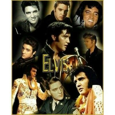 AU14.16 • Buy Round 5D Diamond Painting Embroidery Elvis Presley Icons Kits Art Decor Gifts