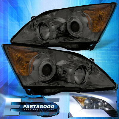 $443.99 • Buy Smoke Projector Headlights Lamps For 2007-2011 Honda Cr-V Amber Side Reflectors
