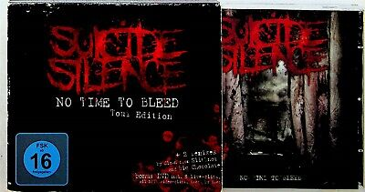 £13.79 • Buy Suicide Silence – No Time To Bleed CD Tour Edition (2010 Deathcore) Live + DVD