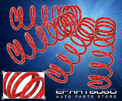 $73.99 • Buy For 03-07 Accord V6 04-08 TL JDM Suspension Racing Drop Lowering Spring Kit Red