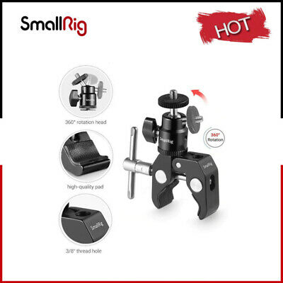£6.43 • Buy SmallRig Super Clamp Mount With With 1/4 Screw  Mini Ball Head Mount - 1124