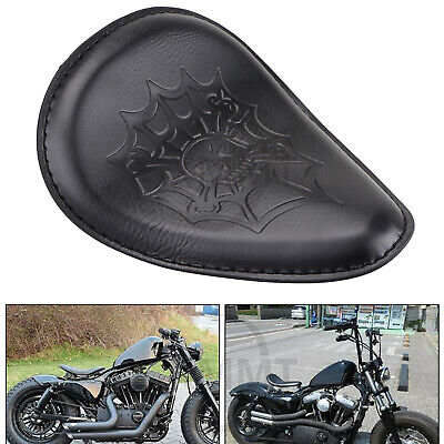 $29.98 • Buy US Motorcycle Driver Solo Seat For Harley Honda Yamaha Sportster Bobber Chopper
