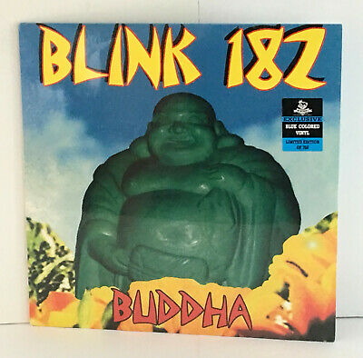 BLINK 182 Buddha Lp BLUE Vinyl Record , SEALED / NEW , Limited Edition • 21.69£
