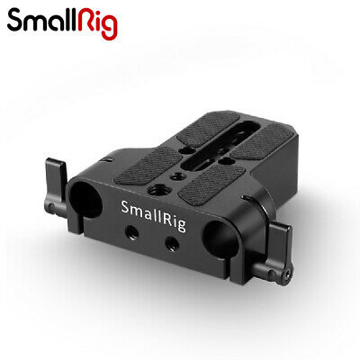 £12.99 • Buy SmallRig Camera Base Plate With  Dual 15mm Rod Rail Clamp For Cameras Cages 1674