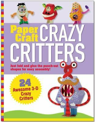 £2.90 • Buy Paper Craft Crazy Critters (Papertoy Models, Origami) By Mary Beth Cryan