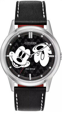 £73.82 • Buy Citizen Eco-Drive FE7060-05W Mickey Mouse Vintage Classic Double Face Mens Watch