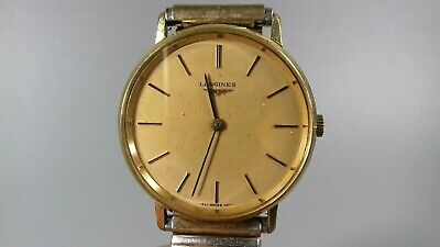 $ CDN247.16 • Buy Vintage Longines Gold Plated Mens Watch L847.4 Mechanical