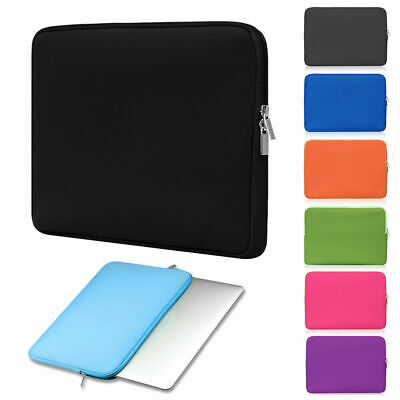 Laptop Bag Sleeve Case Cover For MacBook Air Pro HP Dell Asus 11 13 15 Inch • 4.79£