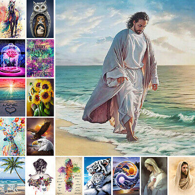 AU23.49 • Buy 5D Diamond Painting Embroidery Cross Craft Stitch Pictures Arts Kit Mural Decor