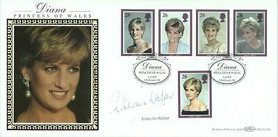 £6.99 • Buy Diana, Princess Of Wales First Day Cover 1998 CERTIFIED SIGNED CATHERINE WALKER