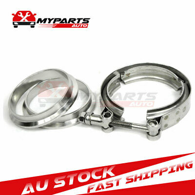 AU23 • Buy 2.5  Inch 64mm V-Band Vband Clamp Steel Flange For Connection Turbo Downpipe