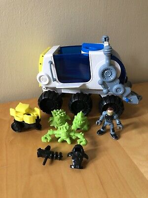 Fisher Price Imaginext Space Hauler Vehicle With Figures + Accessories • 11.95£
