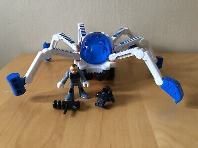 Fisher Price Imaginext Space Spider Crawler Vehicle With Figure + Accessories • 11.95£