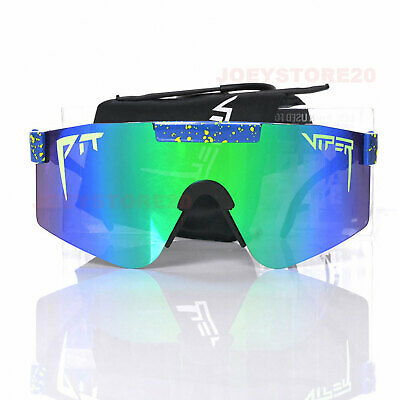 AU44.99 • Buy Pit Viper Polarized Sunglasses Cycling Sport Goggles For Men/women Outdoor UV400