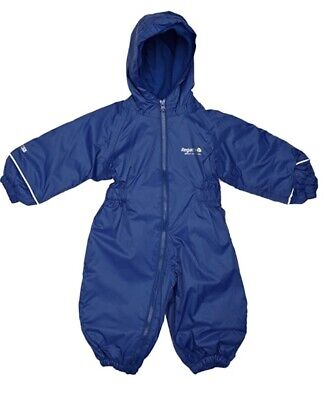Regatta Kids Splosh Laser Waterproof Padded All In One Outdoor Suit 6- 12 Months • 17.99£