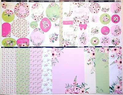 £4.50 • Buy Kanban 'A Lovely Bouquet' Card Kit - 4 A4 Toppers & 8 A4 Card - £4.50 (23a)