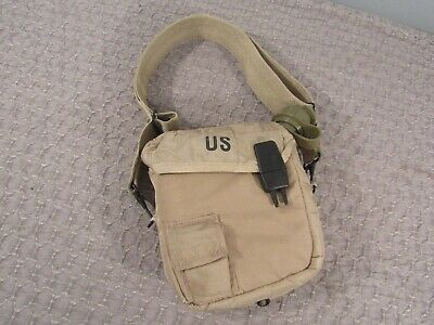 $ CDN14.51 • Buy US Military 2QT Collapsible Canteen W/ Desert Tan Cover Pouch & Strap