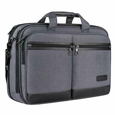 "KROSER 18"" Laptop Bag Stylish Laptop Briefcase Fits Up To 17.3 Inch Laptop • 36.98£"