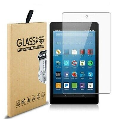 £4.99 • Buy 2 Pack Genuine TEMPERED GLASS Screen Protector For Amazon KINDLE FIRE HD 10.1